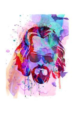 Dude Watercolor by Anna Malkin