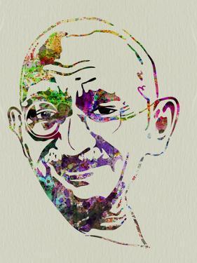 Gandhi Watercolor by Anna Malkin