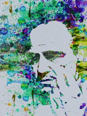 Godfather Watercolor by Anna Malkin