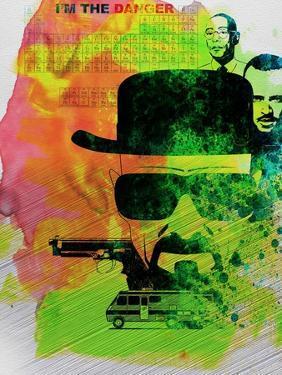 Heisenberg Watercolor by Anna Malkin
