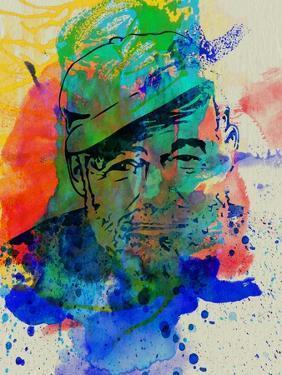 Hemingway Watercolor 2 by Anna Malkin