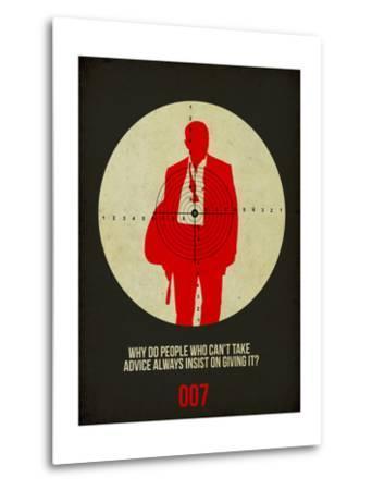 James Poster Black by Anna Malkin