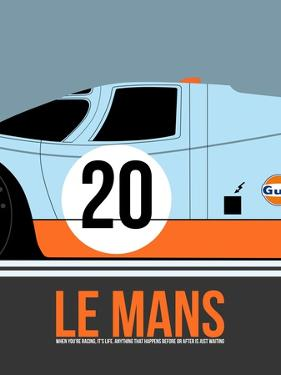 Le Mans Poster 2 by Anna Malkin