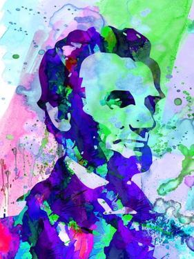 Lincoln Watercolor by Anna Malkin