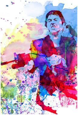 Scar Watercolor by Anna Malkin