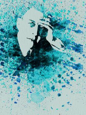 Sergey Rachmaninov Watercolor by Anna Malkin