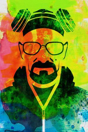 Walter White Watercolor 1 by Anna Malkin