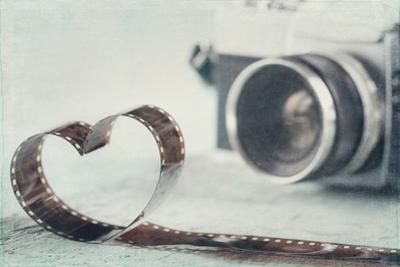 Heart Shaped from Film Negative by Anna-Mari West