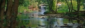 Cataract Falls State Park, Indiana, USA by Anna Miller