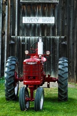 old tractor, Indiana, USA by Anna Miller
