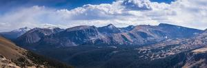 Rocky Mountains Range View from Trail Ridge Road, Rmnp, Colorado by Anna Miller