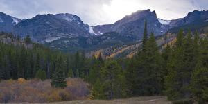 Storm Pass Vista in Rocky Mountains National Park, Colorado,USA by Anna Miller