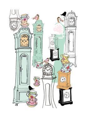 Clocks, 2013 by Anna Platts