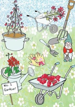 Gardening, 2013 by Anna Platts