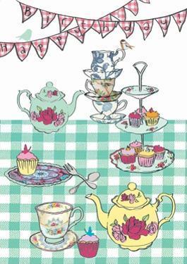 High Tea Birthday, 2013 by Anna Platts