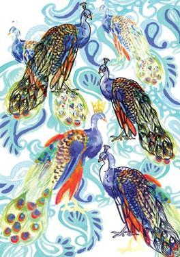 Paisley Peacock, 2013 by Anna Platts