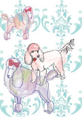 Poodles, 2013 by Anna Platts