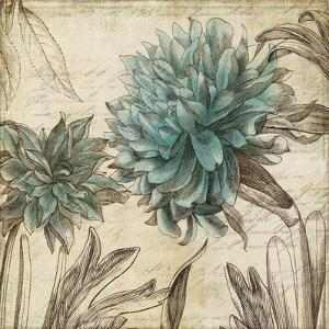 Blue Botanical I by Anna Polanski