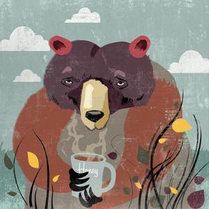 Honey bear by Anna Polanski