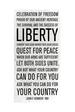 JFK Speech by Anna Polanski
