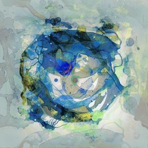 Watercolour Abstract III by Anna Polanski