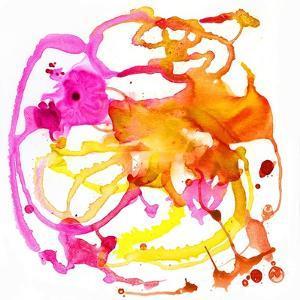 Watercolour Abstract IV by Anna Polanski