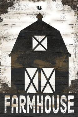 Farmhouse Barn by Anna Pugh