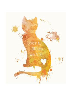 Cat Love by Anna Quach