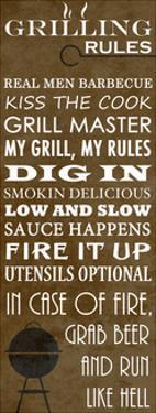 Grilling Rules by Anna Quach