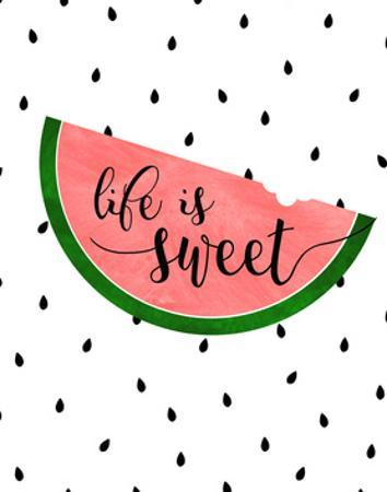 Life is Sweet - Watermelon by Anna Quach
