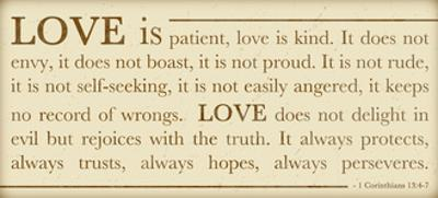 Love Is Patient by Anna Quach