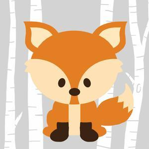 Woodland Fox by Anna Quach