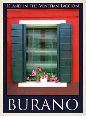 Burano Window, Italy 20 by Anna Siena