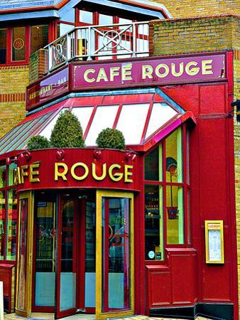 Cafe Rouge Queensway, London by Anna Siena