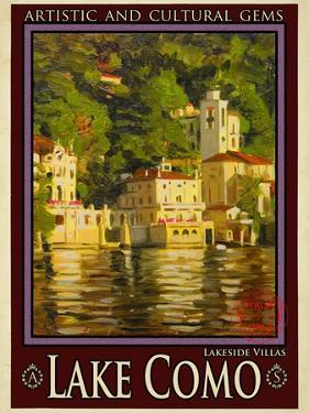 Lake Como Italy 1 by Anna Siena