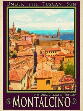 Montalcino Tuscany 1 by Anna Siena