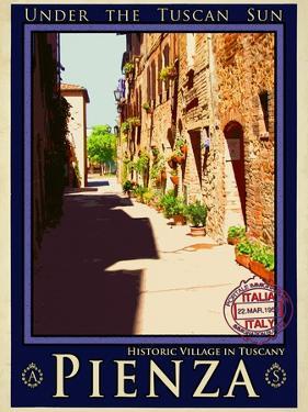 Pienza Tuscany 4 by Anna Siena