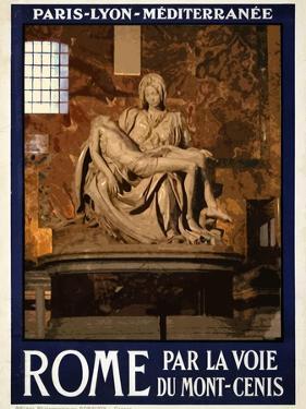 Pieta by Michelangelo, Roma Italy 3 by Anna Siena