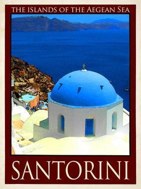 Santorini Greece 2 by Anna Siena