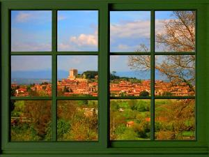View from the Window at Tuscany by Anna Siena