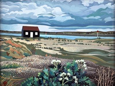 Hut, Rye Harbour