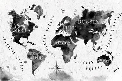 Ink World Map