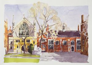 Chapel and Hall, Lincoln's Inn by Annabel Wilson