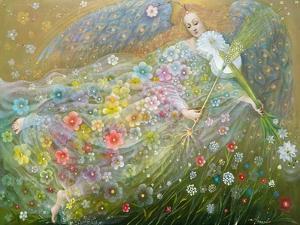 Angel of the Wheat, 2018 by Annael Anelia Pavlova
