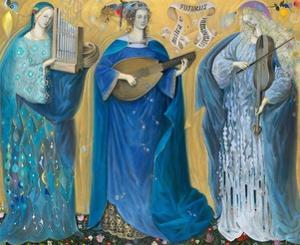 Meditations on the Holy Trinity - after the music of Olivier Messiaen, 2007 by Annael Anelia Pavlova