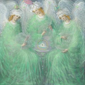 The Revelations of Spring , left panel by Annael Anelia Pavlova