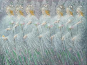 The Revelations of Spring , right panel by Annael Anelia Pavlova
