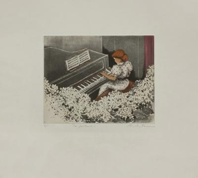 Le Piano by Annapia Antonini