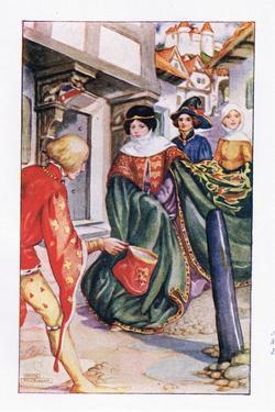 Aurelius Hastened to Dorigen by Anne Anderson