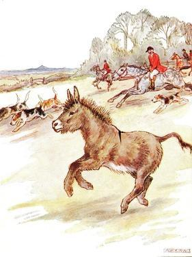 'Had the Time of My Life Today. Men in Red Coats on Horses and Lots of Dogs Came Galloping across… by Anne Anderson